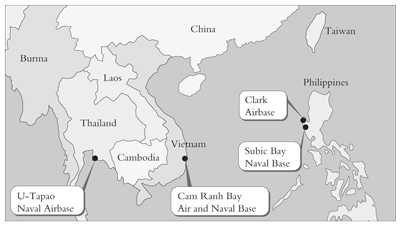 Imperialism And Instability In East Asia Today International - Map of us alliances in asia